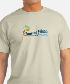 Hunting Island - Waves Design T-Shirt