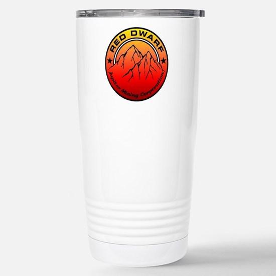 Red Dwarf Stainless Steel Travel Mug