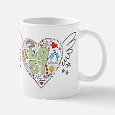 LOST Love - Old School Style Mug