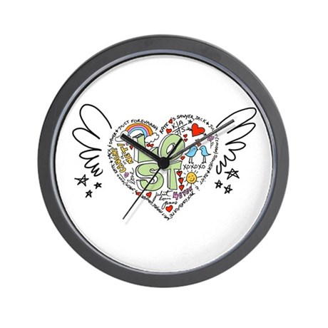 LOST Love - Old School Style Wall Clock