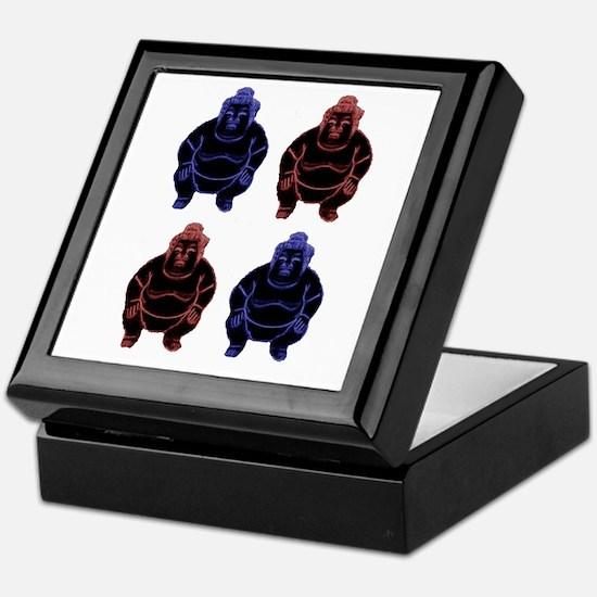 Four Sumos Keepsake Box