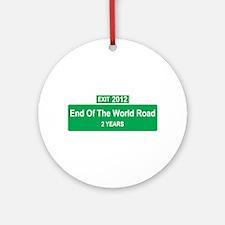 Worlds End Ornament (Round)