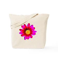 Pink Red Pop art Flower Tote Bag