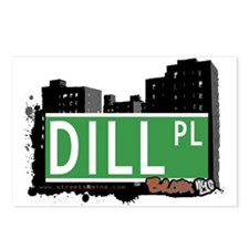 Dill Pl, Bronx, NYC Postcards (Package of 8)