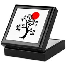 Tranquility tree Keepsake Box
