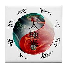 TaiChi Tile Coaster