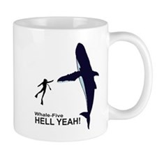 Whale-Five. Mug