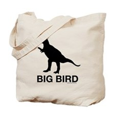 Dinosaur Big Bird Tote Bag