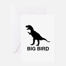 Dinosaur Big Bird Greeting Card