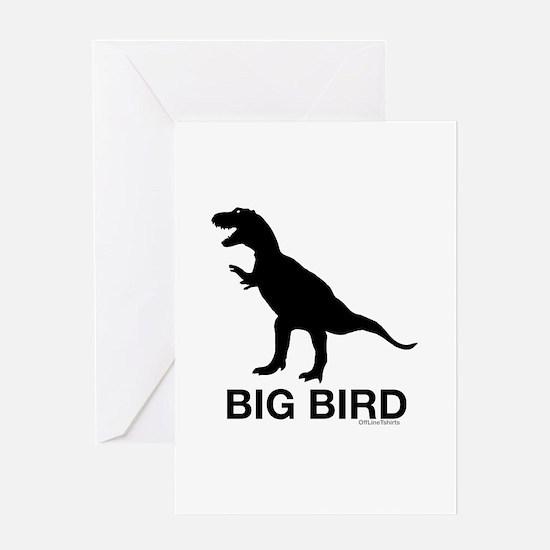 Dinosaur Big Bird Greeting Card