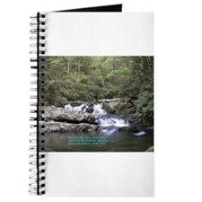 Waterfall w/poem Journal