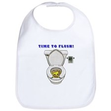 TIME TO FLUSH! Bib