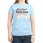 Fashion Addiction Women's Pink T-Shirt