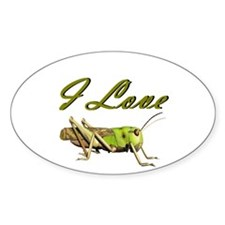 I love grasshoppers Decal