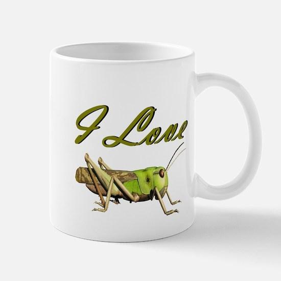 I love grasshoppers Mug