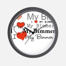 My Bimmer Wall Clock