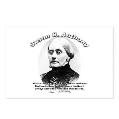Susan B. Anthony 01 Postcards (Package of 8)