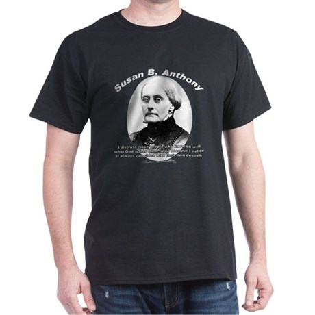Susan B. Anthony 01 Black T-Shirt