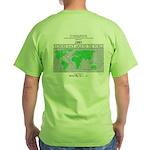 Widmore Race Around The World Green T-Shirt