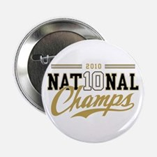 """2010 National Champs 2.25"""" Button"""