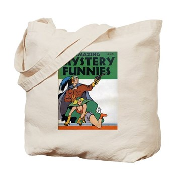 Amazing Mystery Funnies Tote Bag $19.99