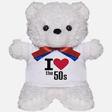 I love the 50's Teddy Bear