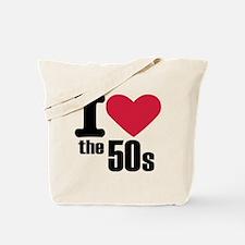 I love the 50's Tote Bag