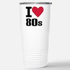 I love 80's Travel Mug