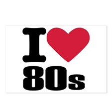 I love 80's Postcards (Package of 8)