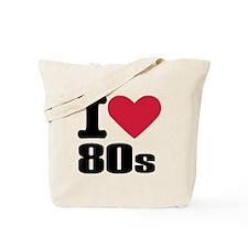 I love 80's Tote Bag