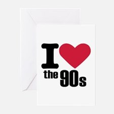 I love the 90's Greeting Cards (Pk of 20)