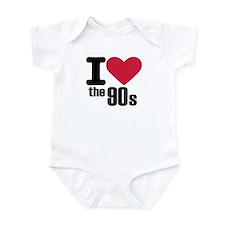 I love the 90's Infant Bodysuit