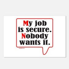 MY JOB Postcards (Package of 8)
