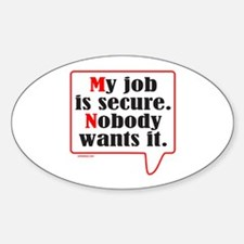 MY JOB Decal