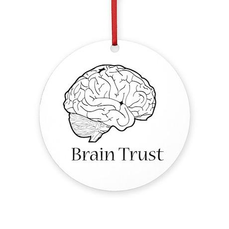 Brain Trust Ornament (Round)