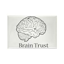 Brain Trust Rectangle Magnet