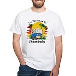 Road To Shambala White T-Shirt