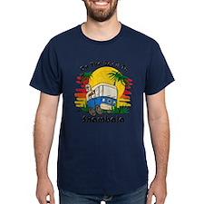 Road To Shambala Dark T-Shirt