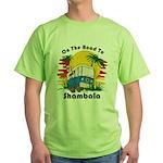 Road To Shambala Green T-Shirt