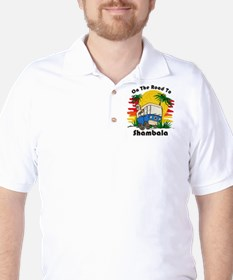 Road To Shambala Golf Shirt