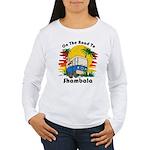 Road To Shambala Women's Long Sleeve T-Shirt