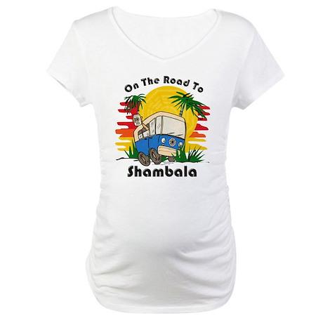 Road To Shambala Maternity T-Shirt