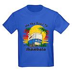 Road To Shambala Kids Dark T-Shirt