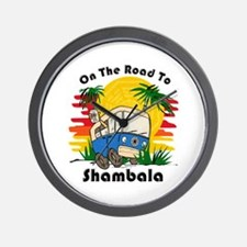 Road To Shambala Wall Clock