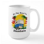 Road To Shambala Large Mug