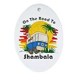 Road To Shambala Ornament (Oval)