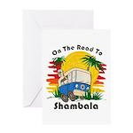 Road To Shambala Greeting Card