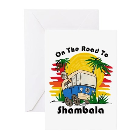 Road To Shambala Greeting Cards (Pk of 10)