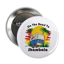 "Road To Shambala 2.25"" Button"