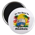 Road To Shambala Magnet